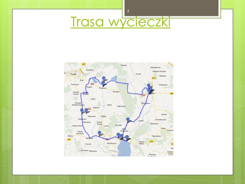 Trasa wycieczki 2