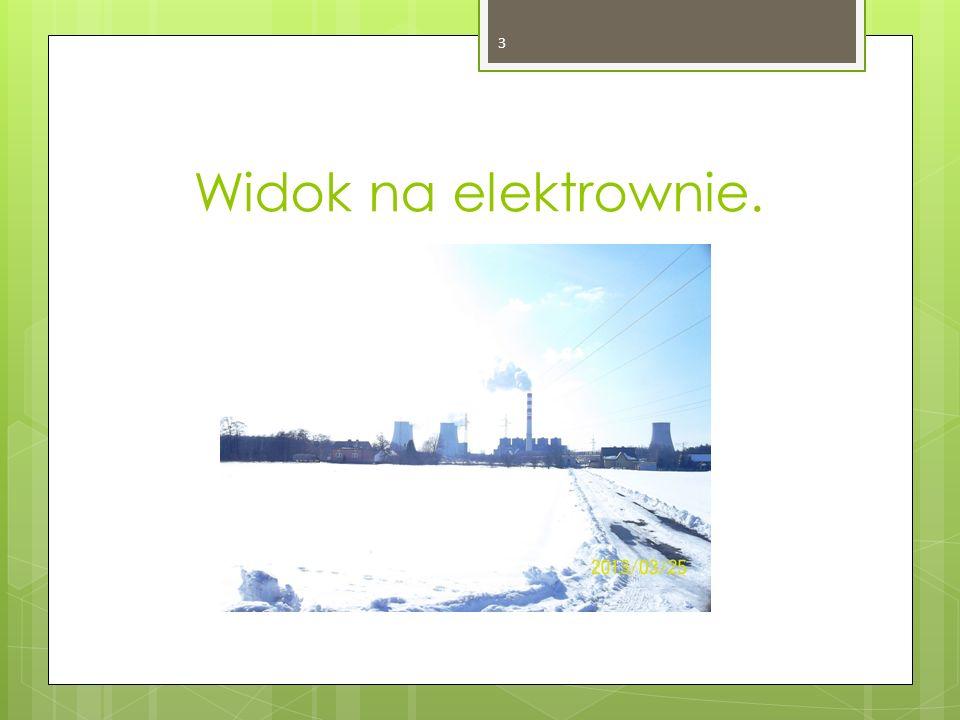 Widok na elektrownie. 3