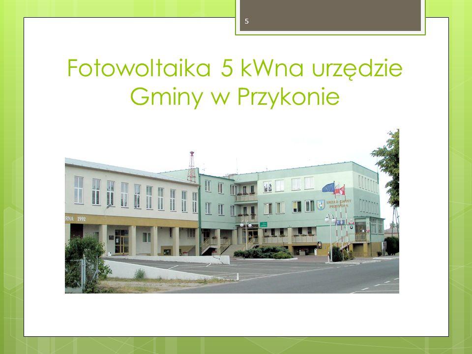 Kolektory w domu opieki w Skęczniewie. 16