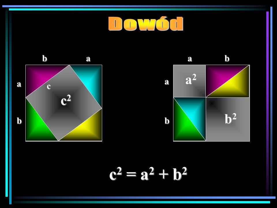 Na rysunkach przedstawione są trójkąty prostokątne.