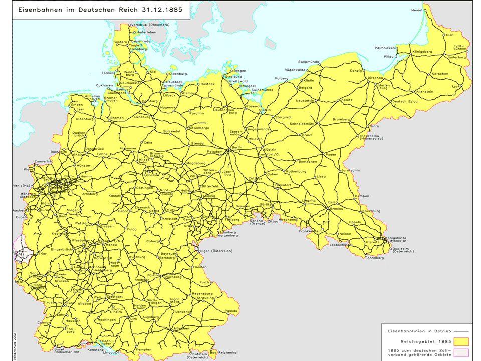 Rozwój sieci kolejowej