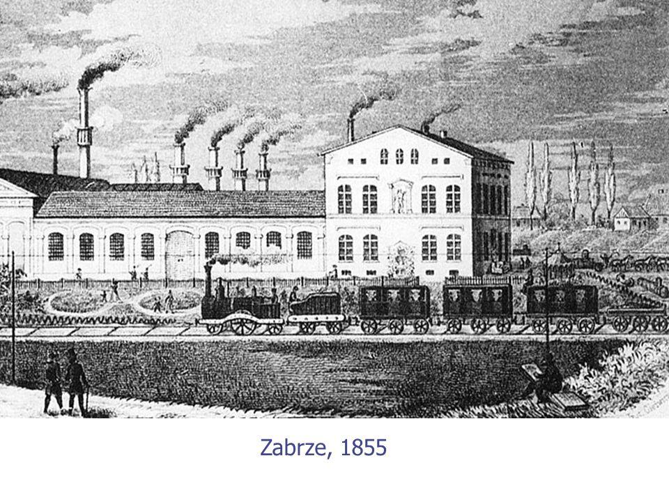 Zabrze, 1855