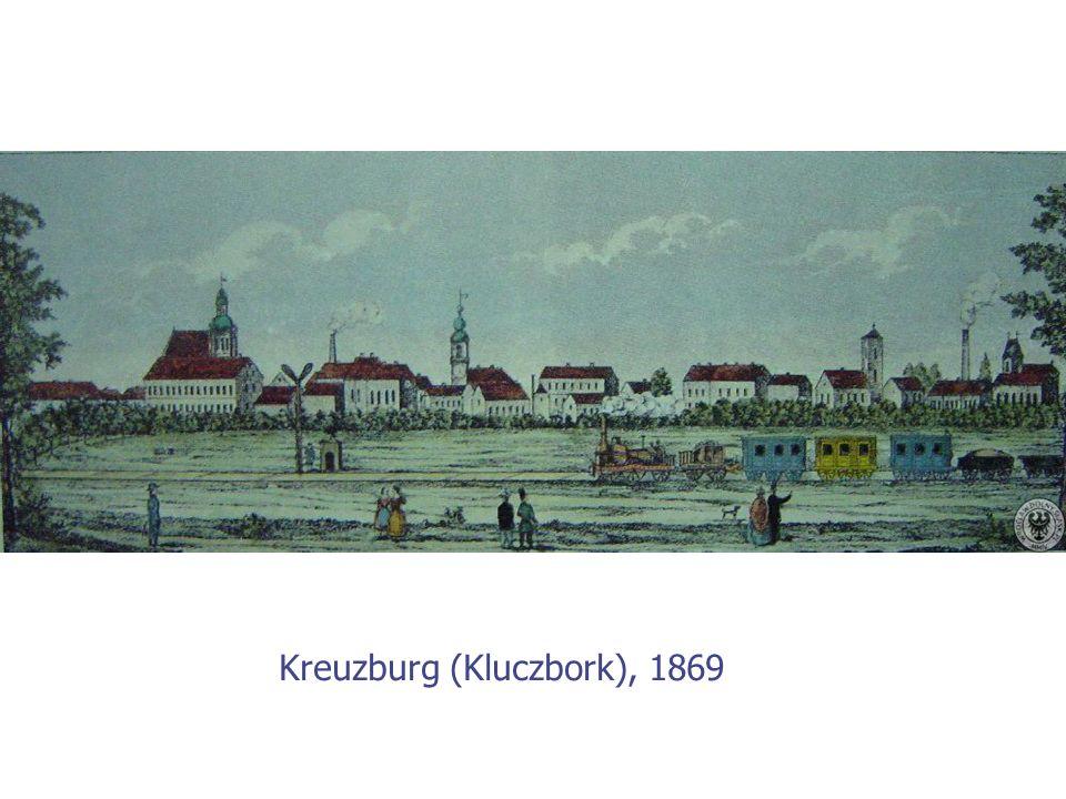 Kreuzburg (Kluczbork), 1869