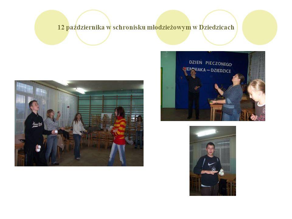 12 października w schronisku młodzieżowym w Dziedzicach