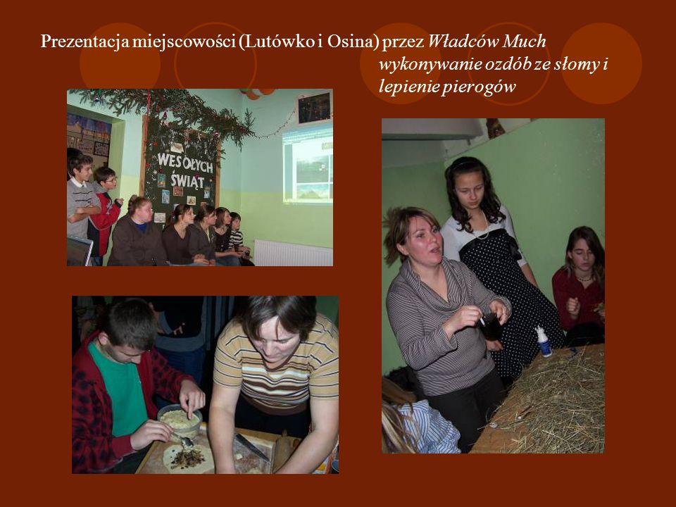 Dzień Lutówka – 12 grudnia powitanie przez sołtysa Zawody – rzut kaloszem Eugeniusza Trafalskiego