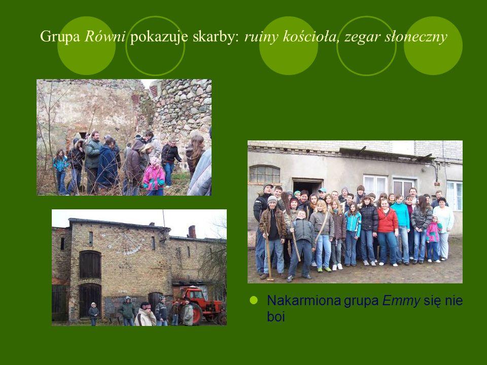 Z wizytą w Równie – 1 marca Sołtys Andrzej Brocki opowiada historię miejscowości i pokazuje stare przedmioty. Chłopcy,,produkują chleb i masło.