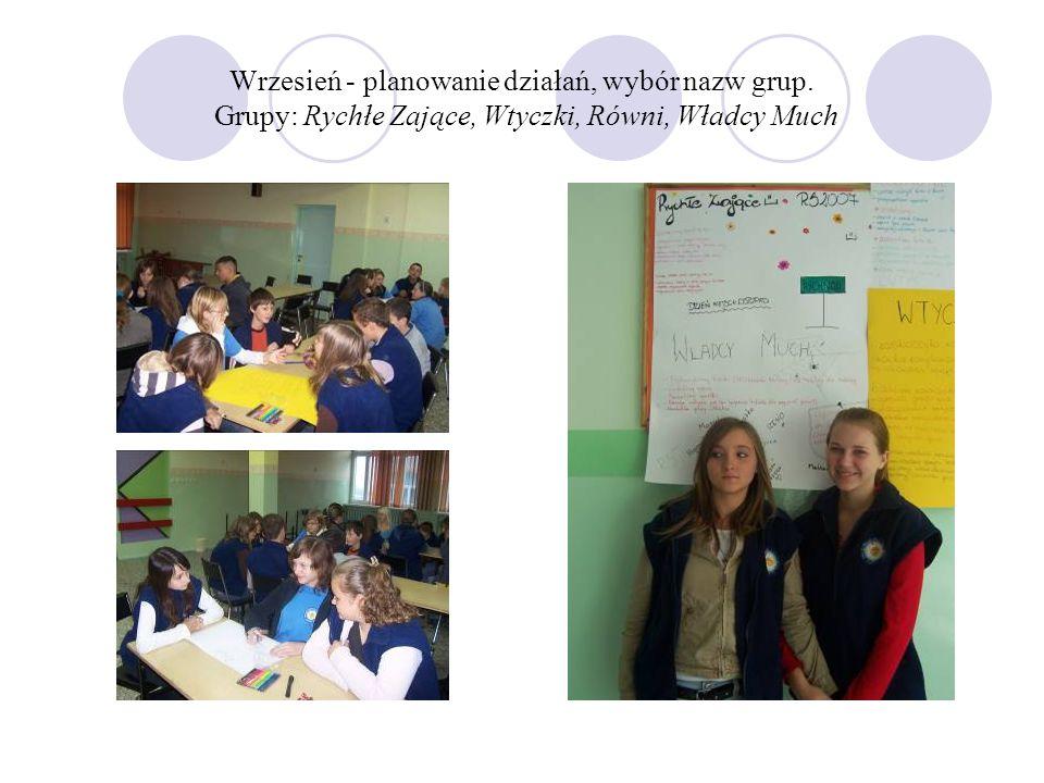 Warsztaty Skąd się biorą bryłki?7 XII 2007 Pan Adam Kominiak przyjechał do nas z Łodzi.