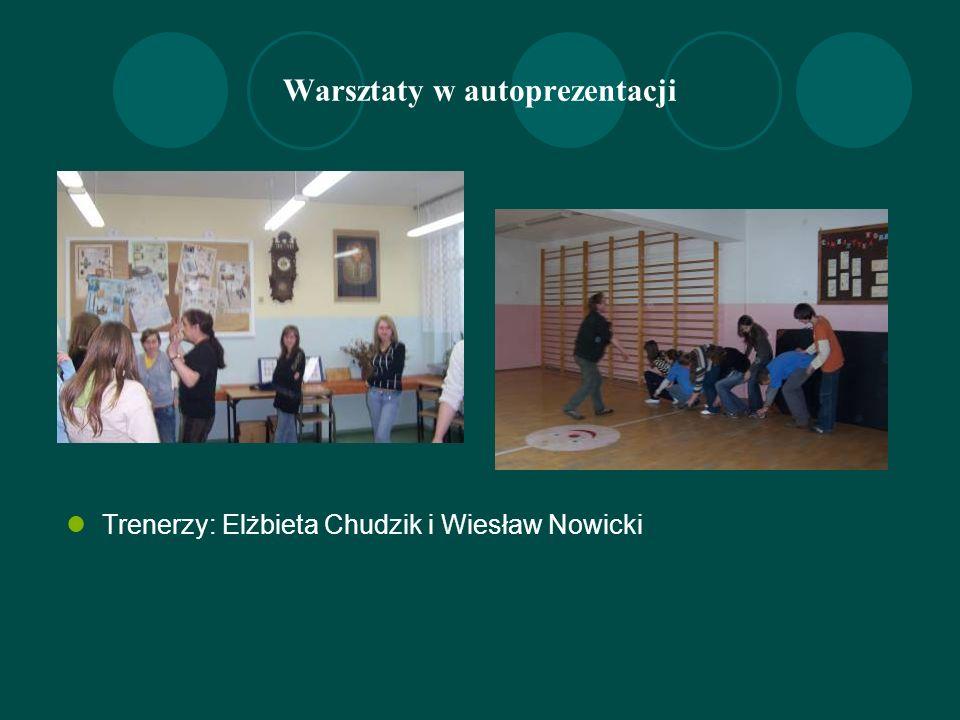 Paweł i Ewelina uczą żonglowania piłeczkami -Dziedzice 13 października krótka noc w śpiworach