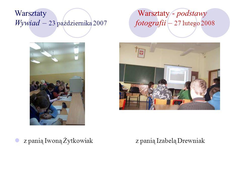 Warsztaty w autoprezentacji Trenerzy: Elżbieta Chudzik i Wiesław Nowicki