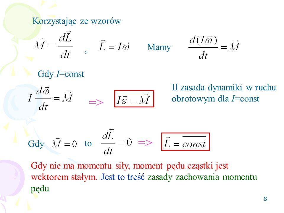 9 Praca Praca dW wykonana przez siłę F przesuwającą cząstkę wzdłuż dr jest równa: A B F dr jednostka SI pracy 1J = 1N·1m W postaci całkowej: