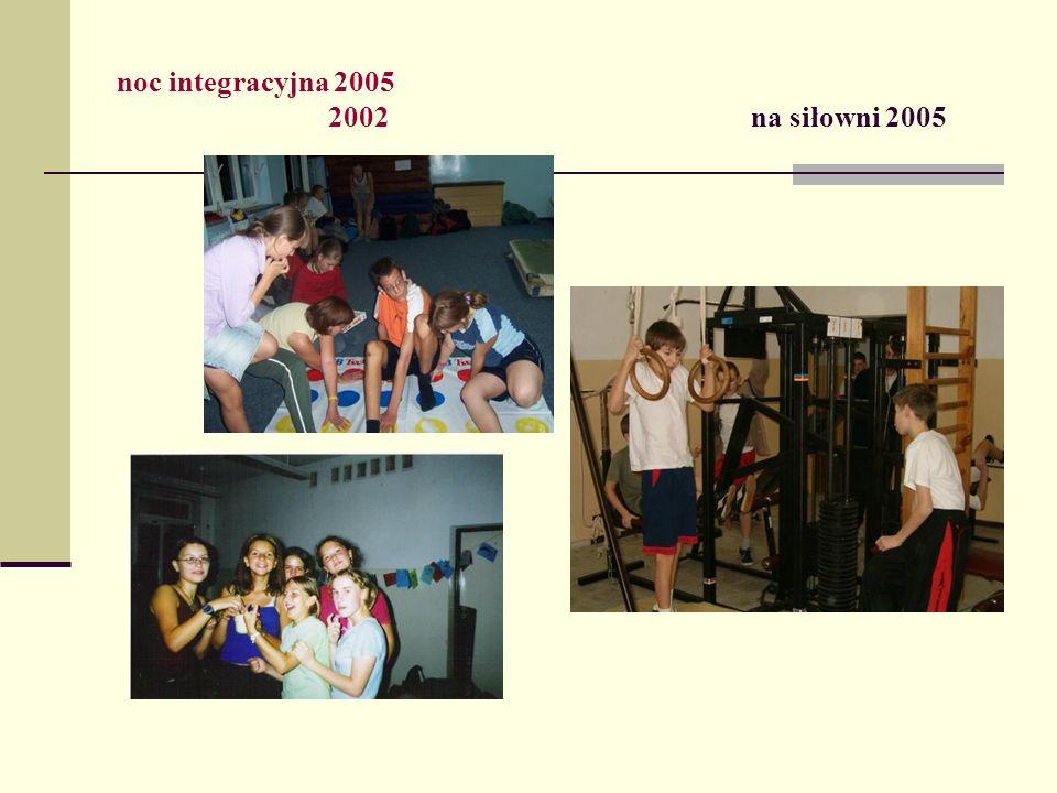 noc integracyjna 2005 2002 na siłowni 2005