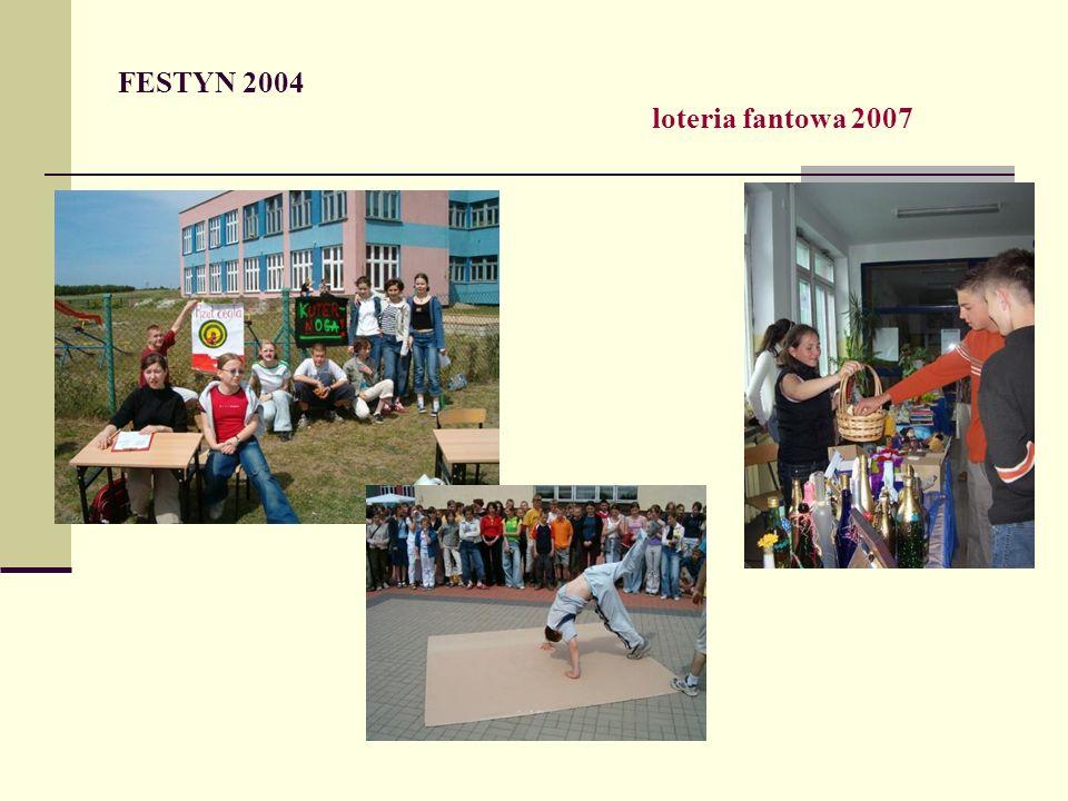 FESTYN 2004 loteria fantowa 2007