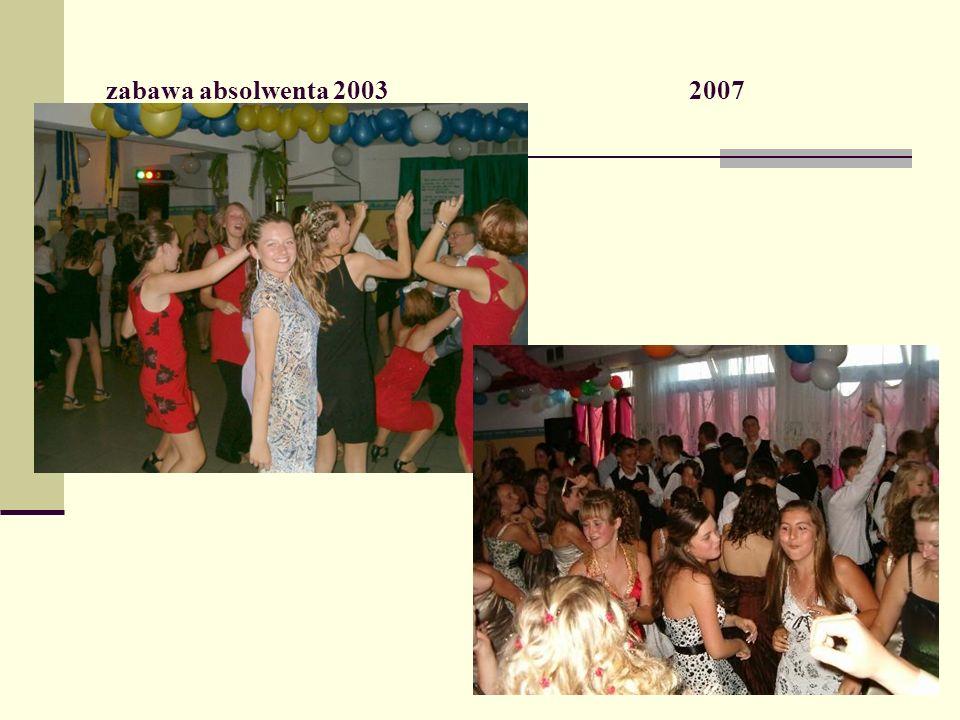 zabawa absolwenta 2003 2007