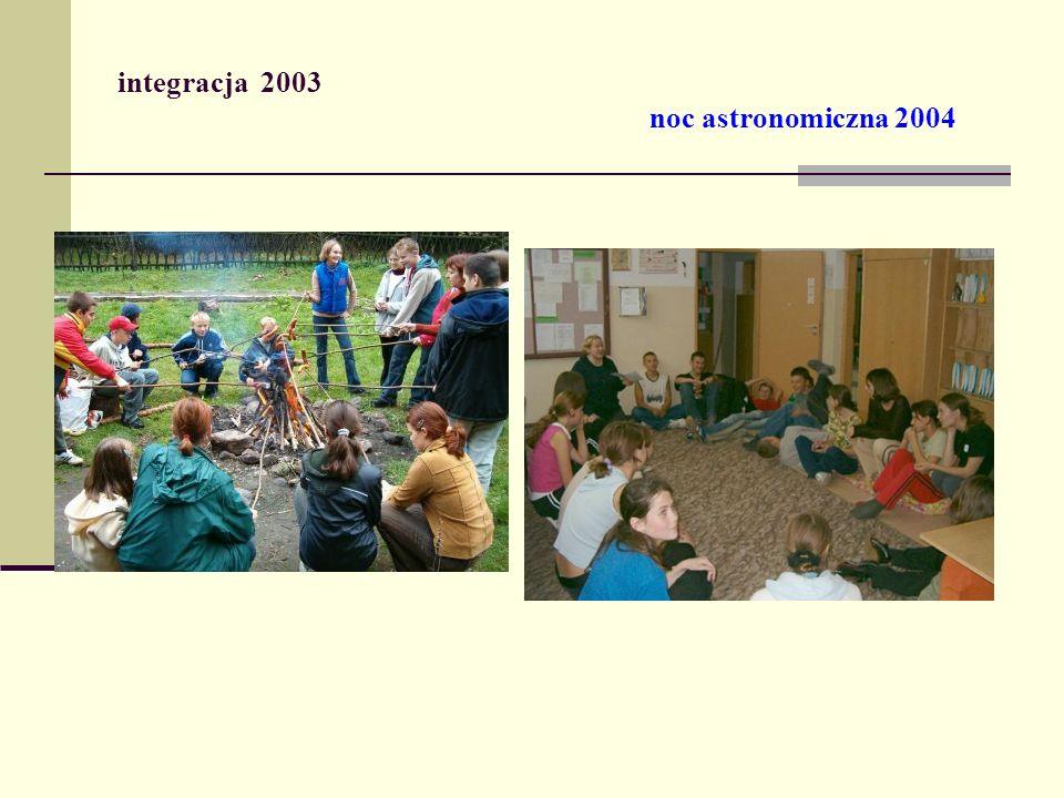integracja 2003 noc astronomiczna 2004