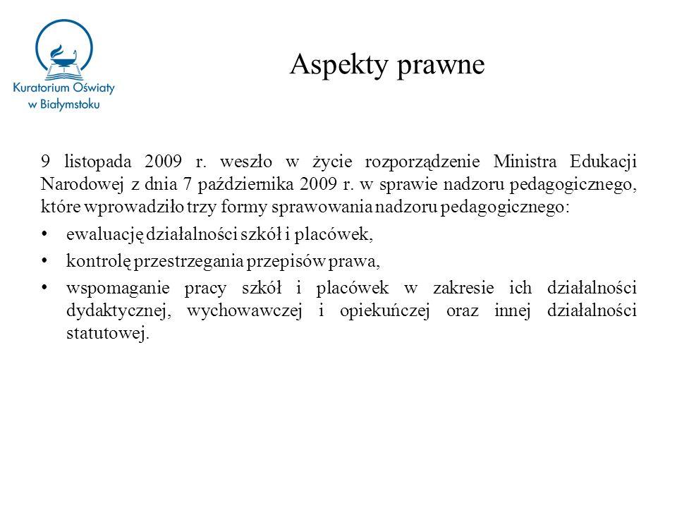 z dnia 10 maja 2013 roku zmieniające rozporządzenie w sprawie nadzoru pedagogicznego (Dz.