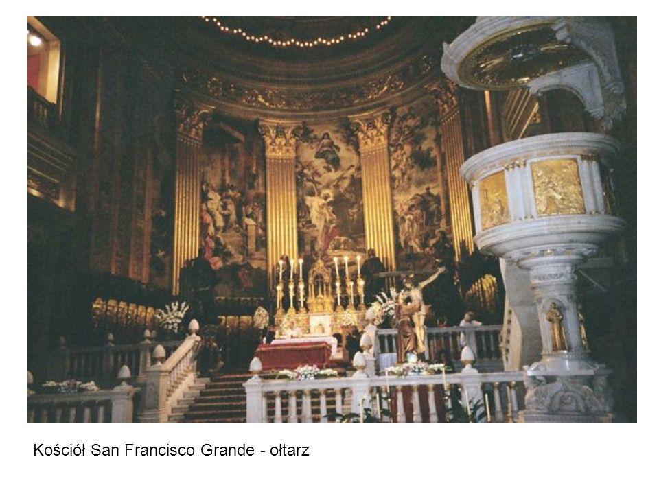 Kościół San Francisco Grande - ołtarz