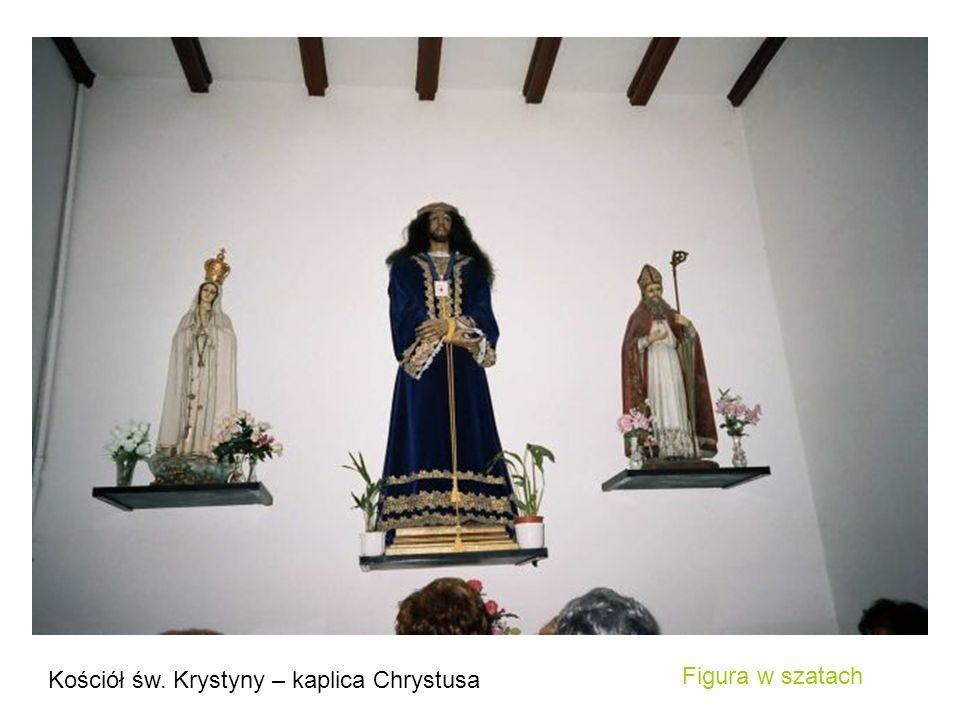 Kościół św. Krystyny – kaplica Chrystusa Figura w szatach