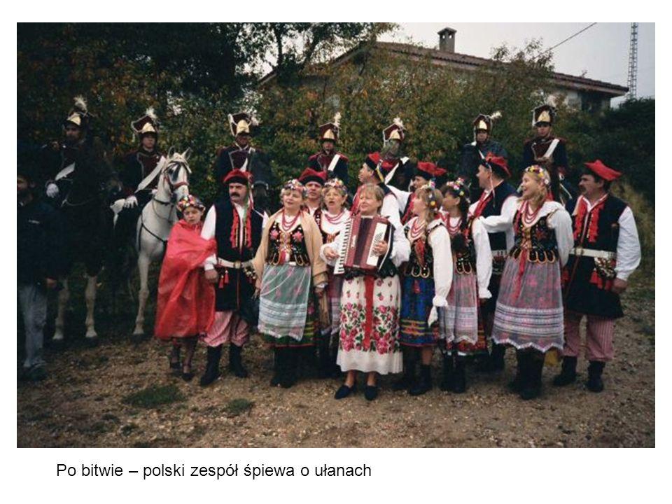 Po bitwie – polski zespół śpiewa o ułanach