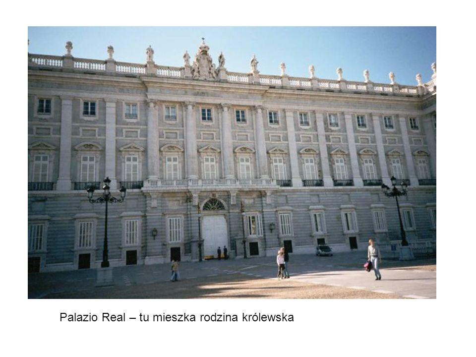 Palazio Real – tu mieszka rodzina królewska