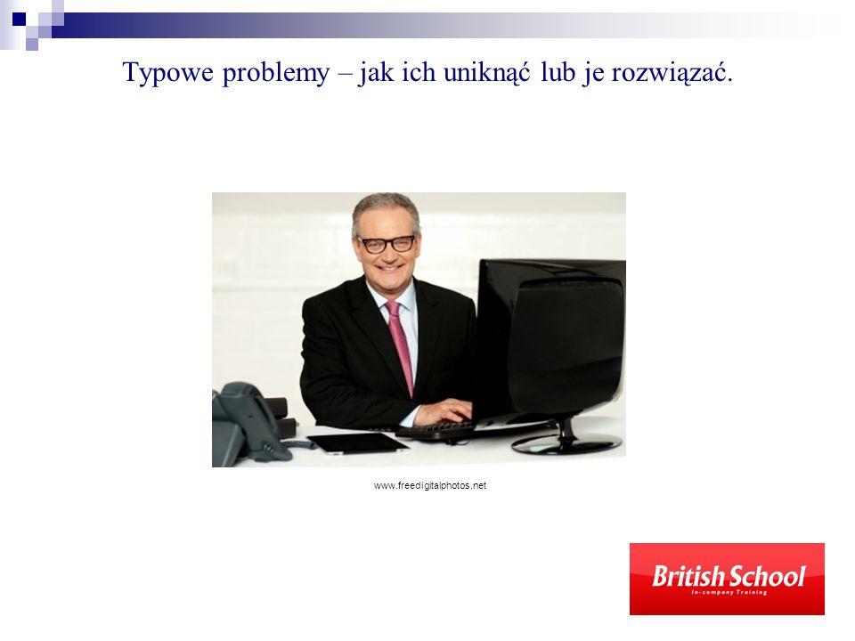 Typowe problemy – jak ich uniknąć lub je rozwiązać. www.freedigitalphotos.net