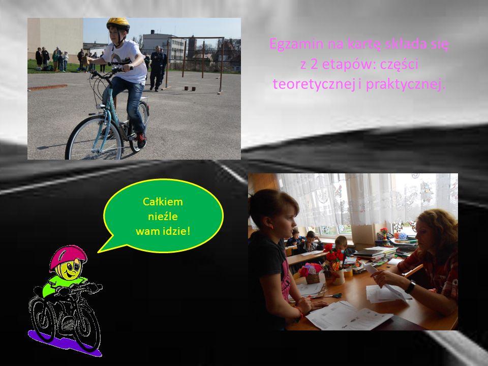 Wszystkie te działania miały na celu pomoc uczniom w zdobyciu karty rowerowej.