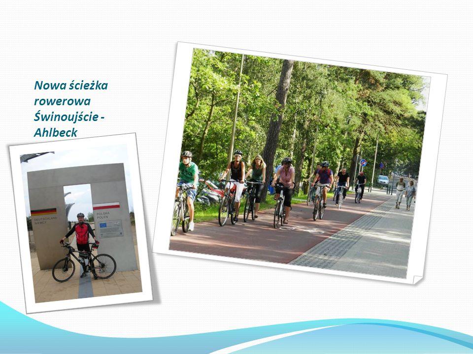 Nowa ścieżka rowerowa Świnoujście - Ahlbeck