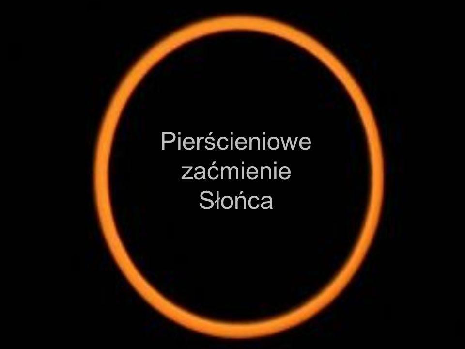 Pierścieniowe zaćmienie Słońca