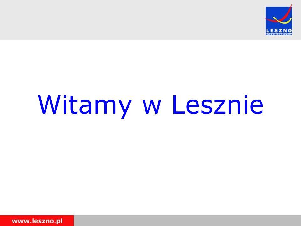 Witamy w Lesznie