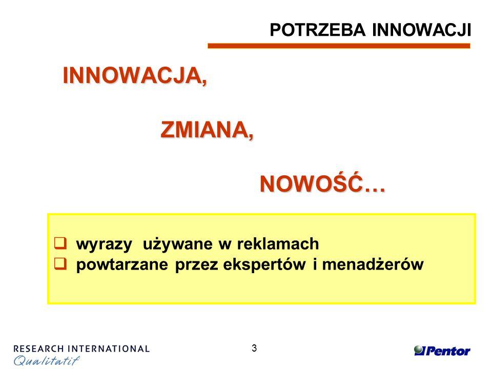 4 INNOWACJA … używane w reklamach … (tydzień 39, 2003)