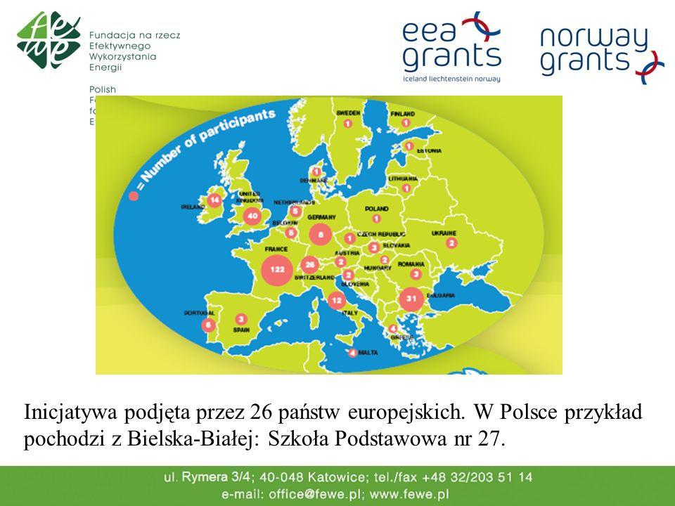 Inicjatywa podjęta przez 26 państw europejskich. W Polsce przykład pochodzi z Bielska-Białej: Szkoła Podstawowa nr 27.