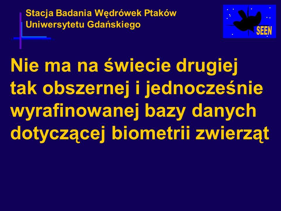 Stacja Badania Wędrówek Ptaków Uniwersytetu Gdańskiego Nie ma na świecie drugiej tak obszernej i jednocześnie wyrafinowanej bazy danych dotyczącej bio