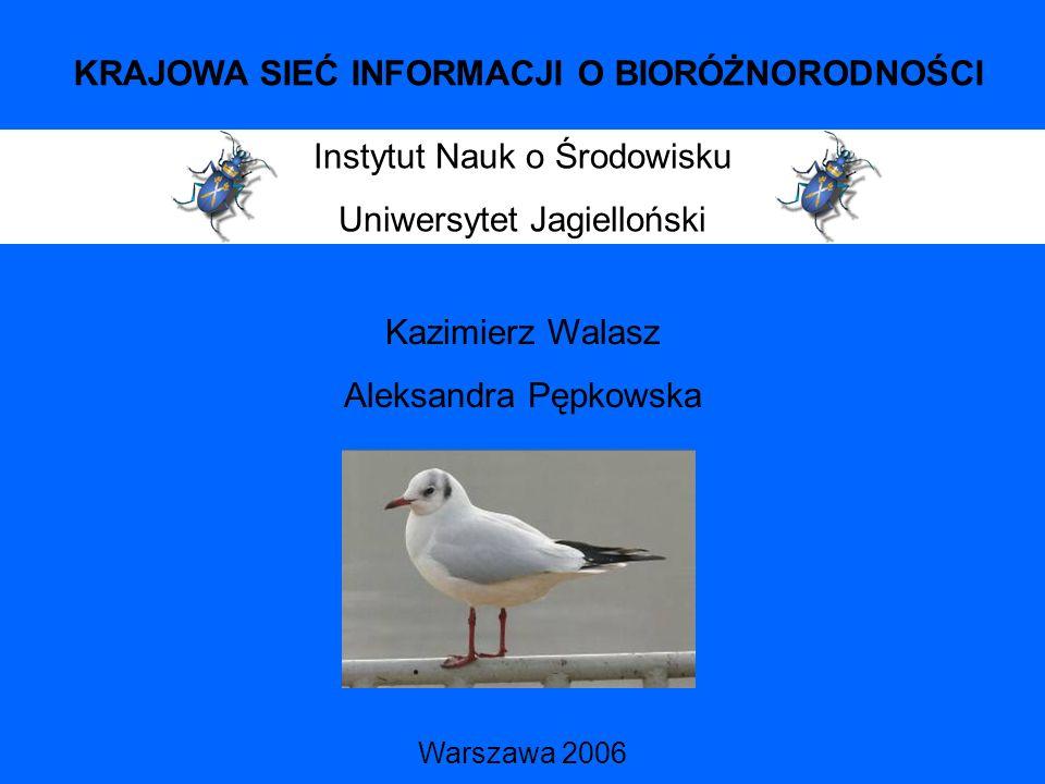 Atlas ptaków lęgowych Małopolski 1985-1991 (Walasz, Mielczarek 1992)