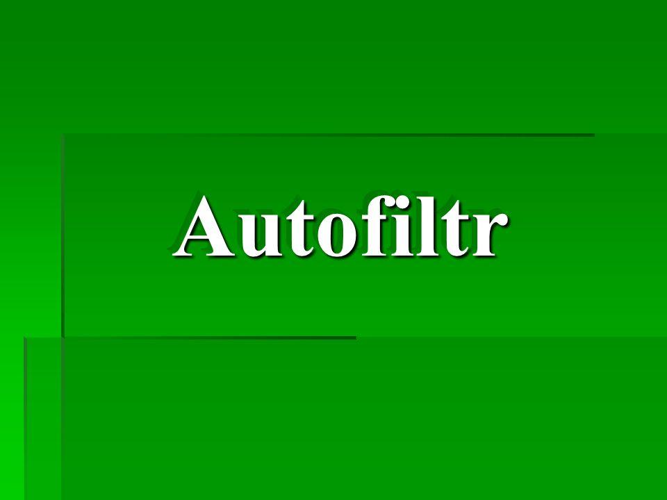 Autofiltr Autofiltr