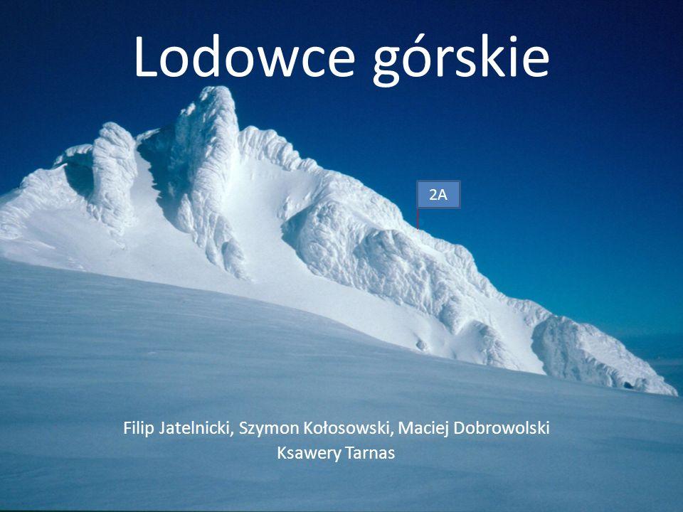 Lodowce górskie Filip Jatelnicki, Szymon Kołosowski, Maciej Dobrowolski Ksawery Tarnas 2A