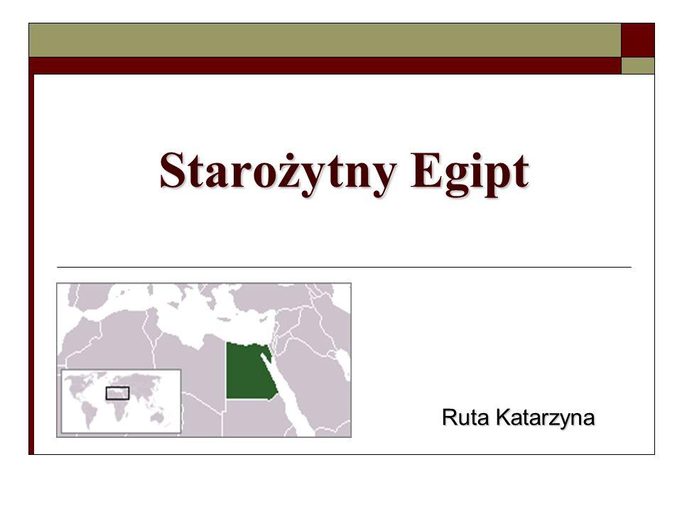 Starożytny Egipt Ruta Katarzyna