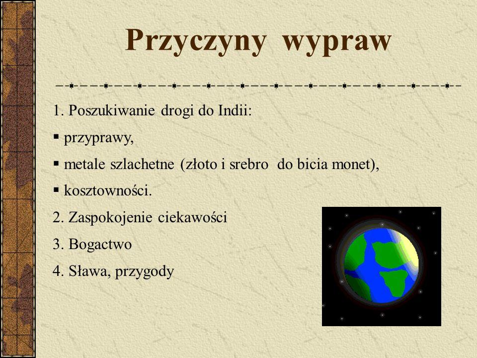 Goździki Goździki - jedna z najbardziej pożądanych przypraw w ówczesnej Europie, obok pierzu, cynamonu oraz gałki muszkatołowej.