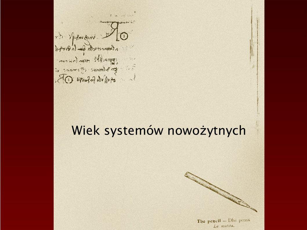 Wiek systemów nowożytnych