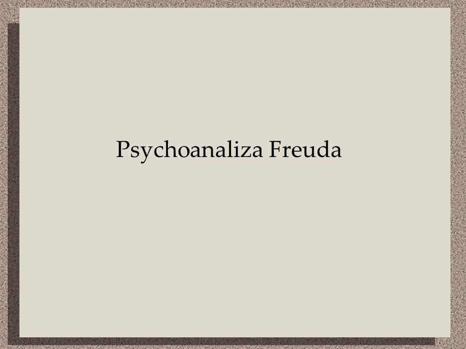 Charakterystyka Kierunek w psychologii i psychoterapii XX w.