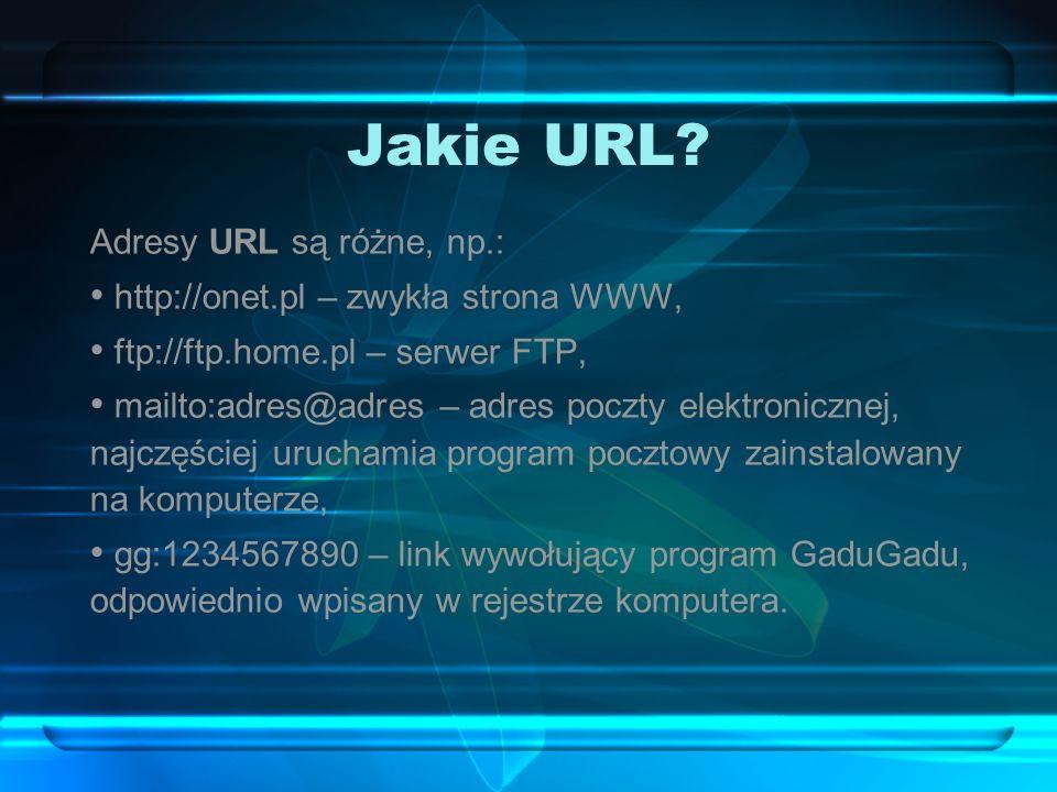 Jakie URL.