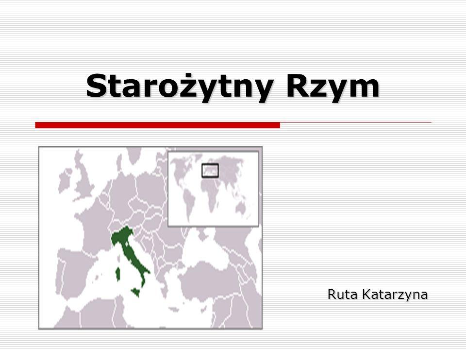 Starożytny Rzym Ruta Katarzyna