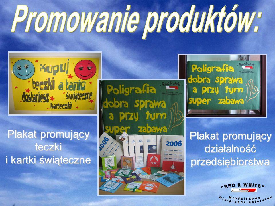 Sprzedaż teczek oraz kartek świątecznych kartek świątecznych w szkole Produkcja kartek świątecznych Sporządzanie sprawozdań z działalności przedsiębio