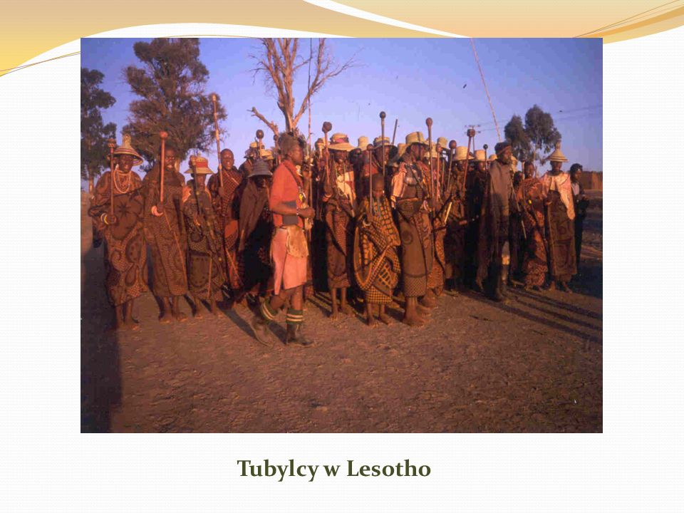 Tubylcy w Lesotho