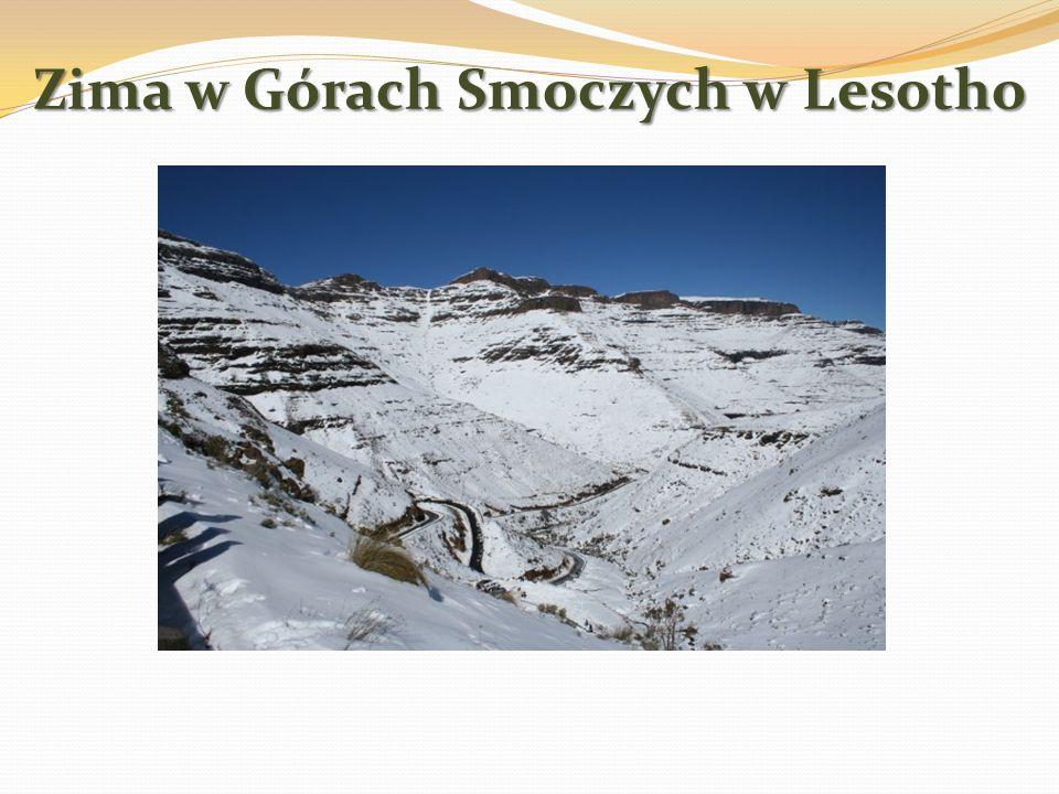 Płaskowyż w Lesotho