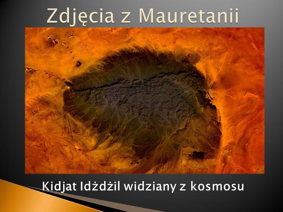 Kidjat Idżdżil widziany z kosmosu