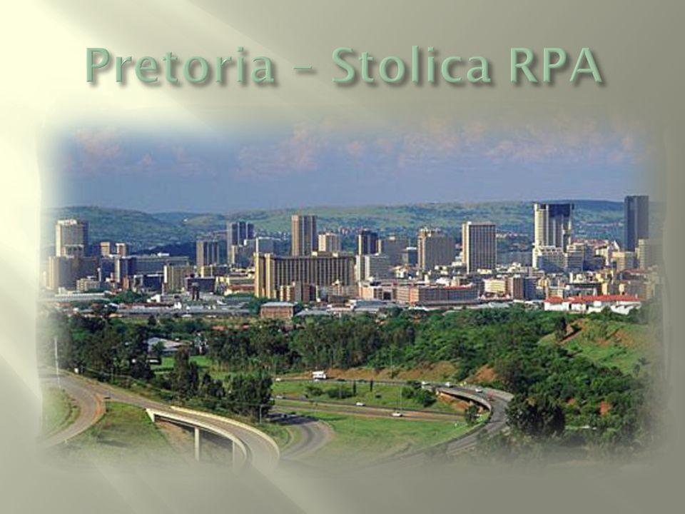Miasta Południowej Afryki są nowoczesne, czyste i zadbane.