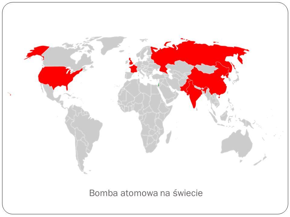 Bomba atomowa na świecie