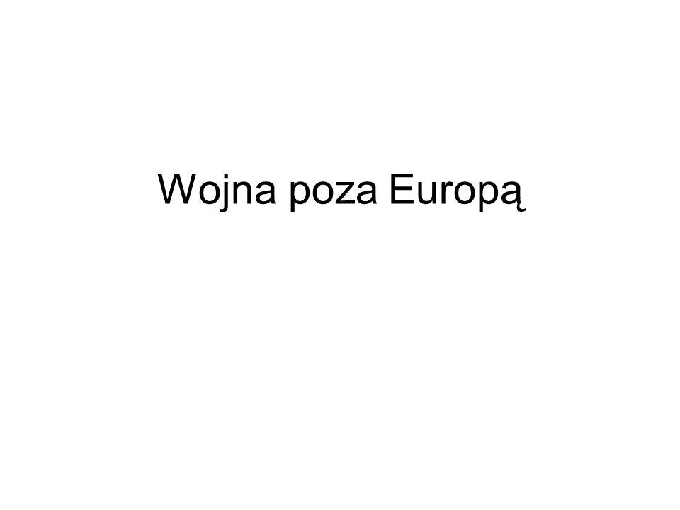 Wojna poza Europą