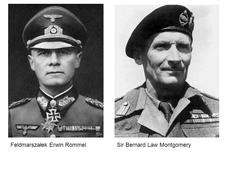 Sir Bernard Law MontgomeryFeldmarszałek Erwin Rommel