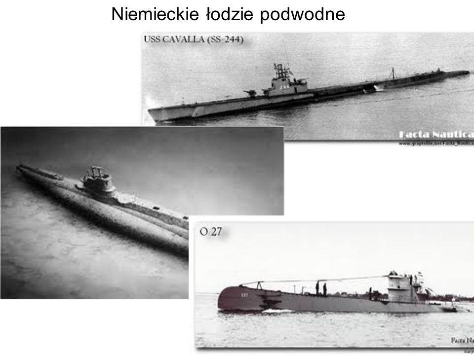 Niemieckie łodzie podwodne