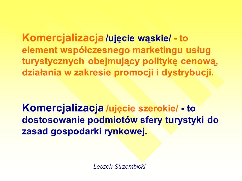 Jakość usług turystyki wiejskiej Leszek Strzembicki … ma kluczowe znaczenie na konkurencyjnym rynku.